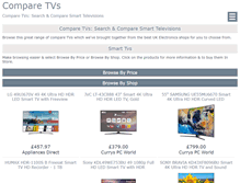 Tablet Preview of comparetvs.co.uk